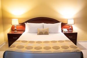 Ein Bett oder Betten in einem Zimmer der Unterkunft Hotel Real Bella Vista