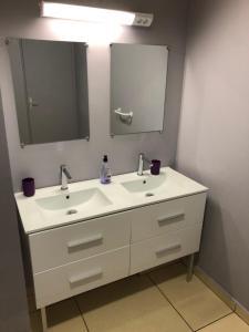 Salle de bains dans l'établissement STUDIO LE REGENT