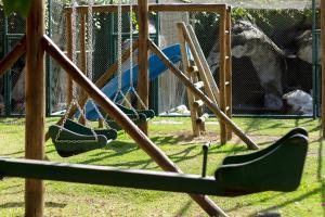 Children's play area at Pousada Cantagalo