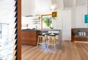 A kitchen or kitchenette at Bacchus