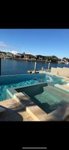 The swimming pool at or near Bella Vista Bed and Breakfast of Raby Bay