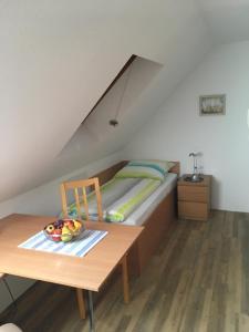 Ein Sitzbereich in der Unterkunft Apartment-Vermietung wohnen-in-hope