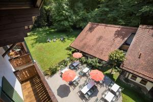 Blick auf Naturidyll Hotel Hammerschmiede aus der Vogelperspektive
