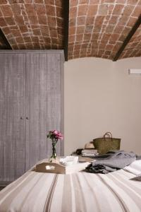 Ein Bett oder Betten in einem Zimmer der Unterkunft Agriturismo Cascina Cerola