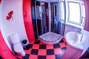 Ванная комната в Семь ветров Гостевой дом