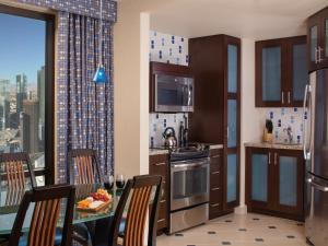 A kitchen or kitchenette at Marriott's Grand Chateau