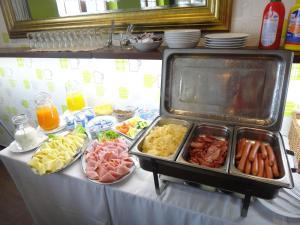 Jedlo v apartmáne alebo blízkom okolí