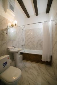 """A bathroom at """"Villa Pia"""""""