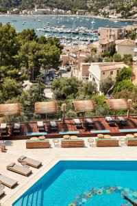 A view of the pool at Bikini Island & Mountain Port de Soller or nearby
