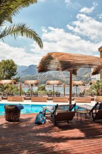 The swimming pool at or near Bikini Island & Mountain Port de Soller