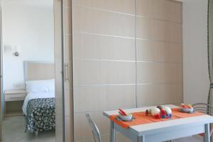 Salle de bains dans l'établissement Residence T2