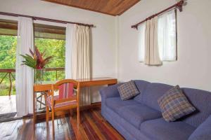 Zona de estar de Crocodile Bay Resort