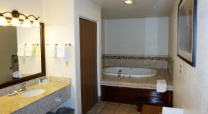 A bathroom at Best Western Grande River Inn & Suites