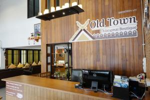 The lobby or reception area at Oldtown Chiangmai Boutique