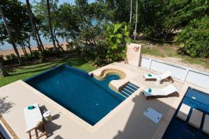A view of the pool at Amatapura Beachfront Villa 15 or nearby