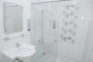 A bathroom at Nan Jing 222 Homestay
