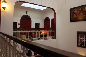 Balcon ou terrasse dans l'établissement Riad Meftaha