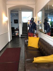 Lobby/Rezeption in der Unterkunft Urban Stay Salzburg City