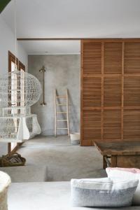 Ein Badezimmer in der Unterkunft Can Tres Formentera