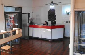 The lobby or reception area at Hotel San Ignacio