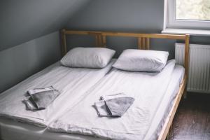 Кровать или кровати в номере Crazy Dog