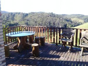 A balcony or terrace at Casa de Campo