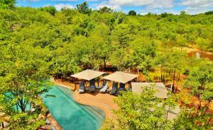 A bird's-eye view of Victoria Falls Safari Club