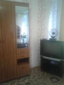 Телевизор и/или развлекательный центр в Apartment on Parallelnaya