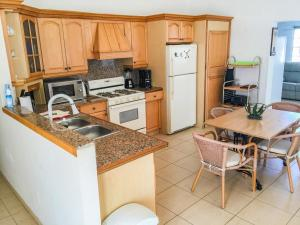 Een keuken of kitchenette bij Villa Paradise with private pool and Jacuzzi not heated