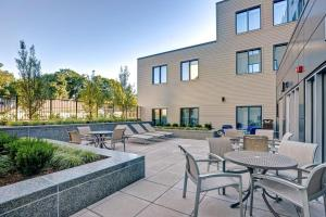 The swimming pool at or near Homewood Suites by Hilton Boston/Brookline
