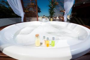 Um banheiro em Mar e Mar Florianópolis