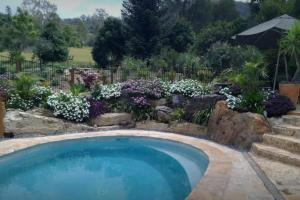 The swimming pool at or near Valley View Cottages