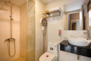 Ванная комната в Love Hotel