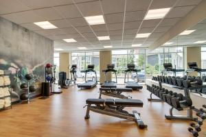 The fitness center and/or fitness facilities at Hyatt Place Milwaukee Downtown