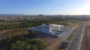 Uma vista aérea de Hotel Oásis de Patos