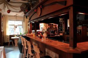 Lounge oder Bar in der Unterkunft Hotel Restaurant Zum Postillion