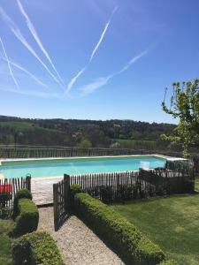 The swimming pool at or near La Sautie