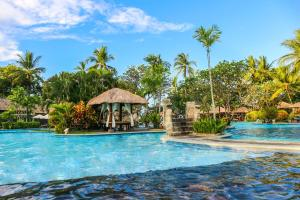 The swimming pool at or near Melia Bali