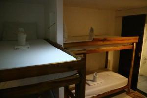 Un ou plusieurs lits superposés dans un hébergement de l'établissement Pawikan Hostel El Nido