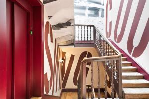 Балкон или терраса в Abba Jazz Hotel Vitoria