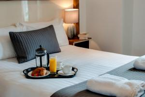 Breakfast options available to guests at Base Serviced Apartments - Sir Thomas Street