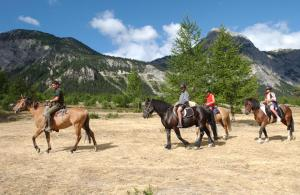 Horseback riding at the condo hotel or nearby