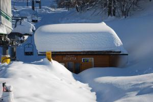 Residence La Tana del Ghiro during the winter