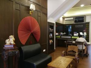 The lobby or reception area at Jonker Boutique Hotel