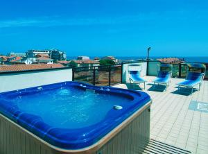 The swimming pool at or near Hotel Residence Margherita