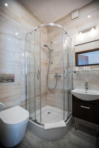 A bathroom at Villa Baltica