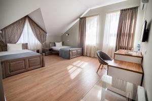 Гостиная зона в Gosudar Hotel
