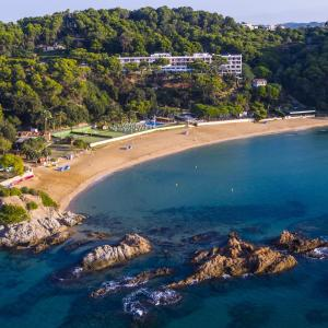 A bird's-eye view of Hotel Santa Marta