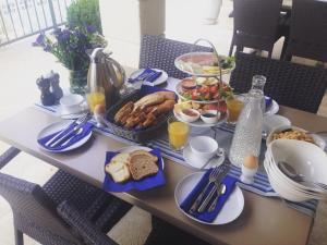 Frühstücksoptionen für Gäste der Unterkunft Guest House Villa Maslina Neum