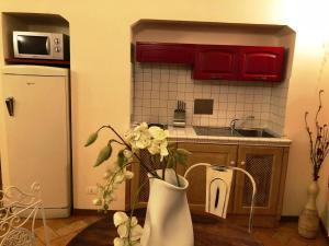 A kitchen or kitchenette at San Lorenzo